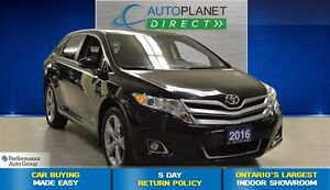 2016 Toyota Venza V6, Back Up Cam, Bluetooth, $98/Wk!