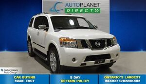 2011 Nissan Armada 4x4 Platinum Edition, Back Up Cam, $153/Wk!