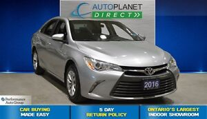 2016 Toyota Camry LE, Back Up Cam, Bluetooth, $64/Wk!