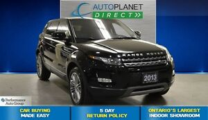 2013 Land Rover Range Rover Evoque Pure, Navi, One Owner, $144/W