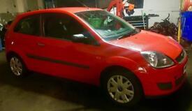 2008 Ford Fiesta 1.25 petrol