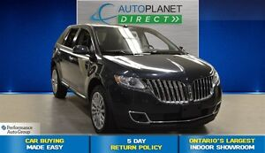 2014 Lincoln MKX Pano Roof, Heated/Cooled Seats, $134/Wk!