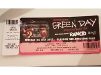2tix Wicked time with green day and special guests rancid if you love billie joe and crew go for it