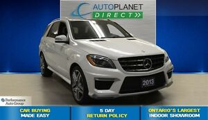 2013 Mercedes-Benz M-Class ML 63 AMG, Navi, Ontario Vehicle, $28