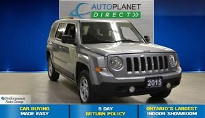 2015 Jeep Patriot North 4X4, Clean Carproof, Keyless, $59/Wk!
