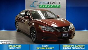 2016 Nissan Altima 2.5 SV, Back Up Cam, Sunroof, $66/Wk!