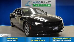 2015 Dodge Charger SXT + Bluetooth + Heated Seats + $78/Week!