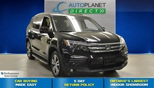 2016 Honda Pilot EX-L AWD, Back Up Cam, Sunroof, Bluetooth, $142