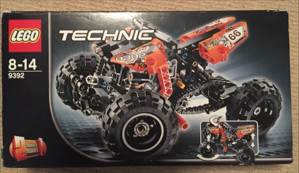 Lego Technic 2 In 1 Quadbike In Cambridge Cambridgeshire Gumtree