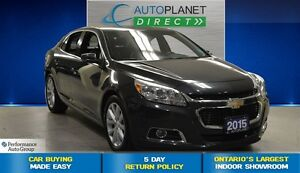 2015 Chevrolet Malibu LT 2LT, Remote Start, 18 Inch Alloys, $59/