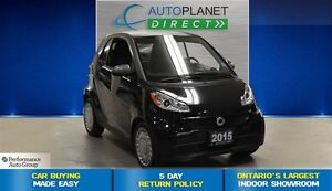 2015 smart fortwo One Owner, Heated Seats, $29/Wk!