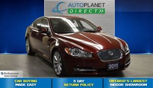 2011 Jaguar XF Premium Luxury, Navi, Sunroof, $121/Wk!