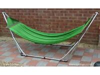 Stainless steel folding hammock - capacity 180kg New