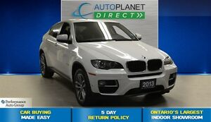2013 BMW X6 xDrive35i, One Owner, Navi, $173/Wk!
