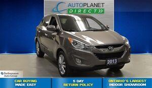 2013 Hyundai Tucson Limited 4X4, Sunroof, Bluetooth, $79/Wk!