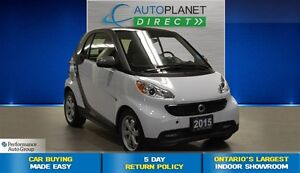 2015 smart fortwo pure + Pano Roof + Heated Seats + $37/Week!