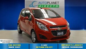 2015 Chevrolet Spark 1LT, Ontario Vehicle, Keyless, $33/Wk!