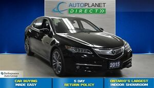 2015 Acura TLX Tech Pkg AWD, Navi, Back Up Cam, Sunroof, $113/Wk