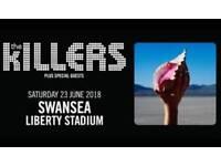 The Killers Swansea x 2