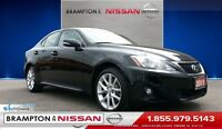 2011 Lexus IS 250 Premium Package *Leather,AWD,Sunroof,Paddle Sh