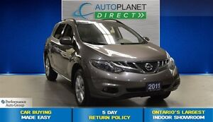 2011 Nissan Murano SL AWD, Back Up Cam, Pano Roof, $74/Wk!