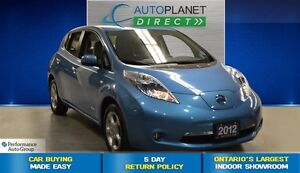 2012 Nissan LEAF SL, Electric Vehicle, Navi, Heated Seats, $70/W