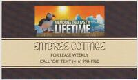 Central NL. Cottage for Lease ( Embree Cottage )