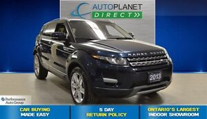 2013 Land Rover Range Rover Evoque Pure + Back Up Cam + Heated S