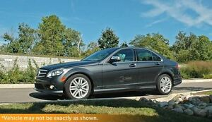2009 Mercedes-Benz C-Class C300, AWD, Moonroof, Heated Leather