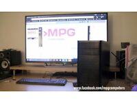 budget gaming PC AMD FX-6300, 8GB RAM,Radeon RX-560 4GB VRAM, 64GB SSD, 500GB HDD, Fractal case,