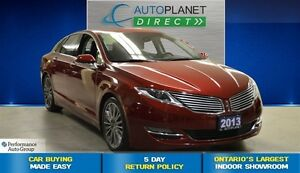 2013 Lincoln MKZ AWD, Navi, Sunroof, Back Up Cam, $107/Wk!