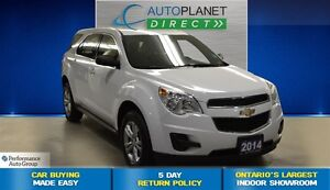 2014 Chevrolet Equinox LS, Alloys, Bluetooth, $68/Wk!