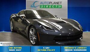 2014 Chevrolet Corvette Stingray Z51 + Navi + Back Up Cam + $271