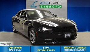 2015 Dodge Charger SXT, Ontario Vehicle, Bluetooth, $76/Wk!