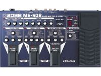 Boss ME50B multi-effects pedal for sale. As new, bargain, serious buyers only