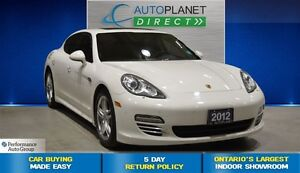 2012 Porsche Panamera 4 AWD, Navi, Back Up Cam, Sunroof, $263/Wk