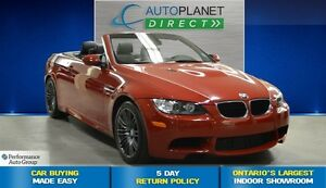 2013 BMW M3 Hard Top Convertible, Navi, $215/Wk!