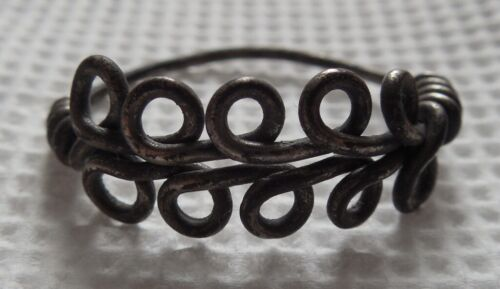 Viking period silver ring, American Size 10 /FREE SHIPPING