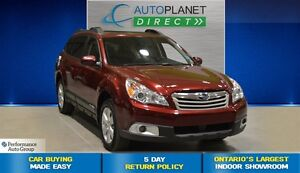 2011 Subaru Outback 3.6R Limited, Navi, Sunroof, $90/Wk!