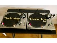2x Technics SL-1200 Mk2 Great Condition