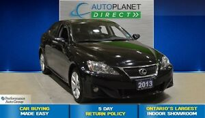 2013 Lexus IS 250 AWD, Navi, Sunroof, Bluetooth, $123/Wk!