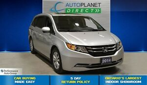 2014 Honda Odyssey EX-L, Navi, Leather, Sunroof, Back Up Cam, $1