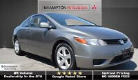 2007 Honda Civic LX (COUPE! AIR CONDITIONING!)