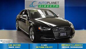 2013 Audi S4 3.0T Quattro, Navi, Sunroof, $134/Wk!