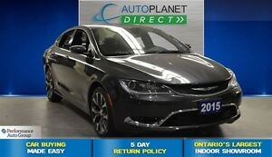 2016 Chrysler 200 C, Navi, Heated Seats, Push Start, $70/Wk!