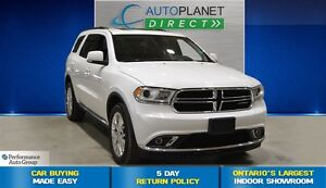 2016 Dodge Durango Limited AWD, Navi, Sunroof, DVD System, $141/
