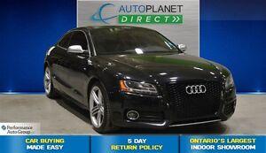 2011 Audi S5 4.2 Quattro Premium, Navi, Bluetooth, $179/Wk!