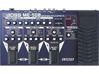 BOSS ME-50B Bass Multi Effects Pedal