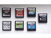 Nintendo Dual Screen DS Games, Pokemon, Mario Kart, Lego, Sims