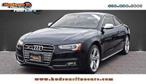 2013 Audi S5 3.0T Premium 6SPD|PREMIUM|NAV|PANOROOF|RED SEATS